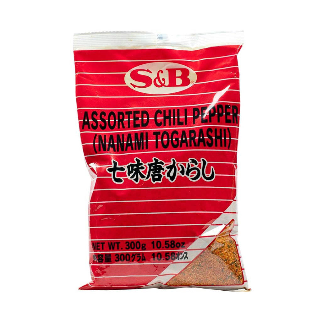 S&B Shichimi Togarashi - 7 Spice Blended Chili Pepper 10.6 oz (300g)