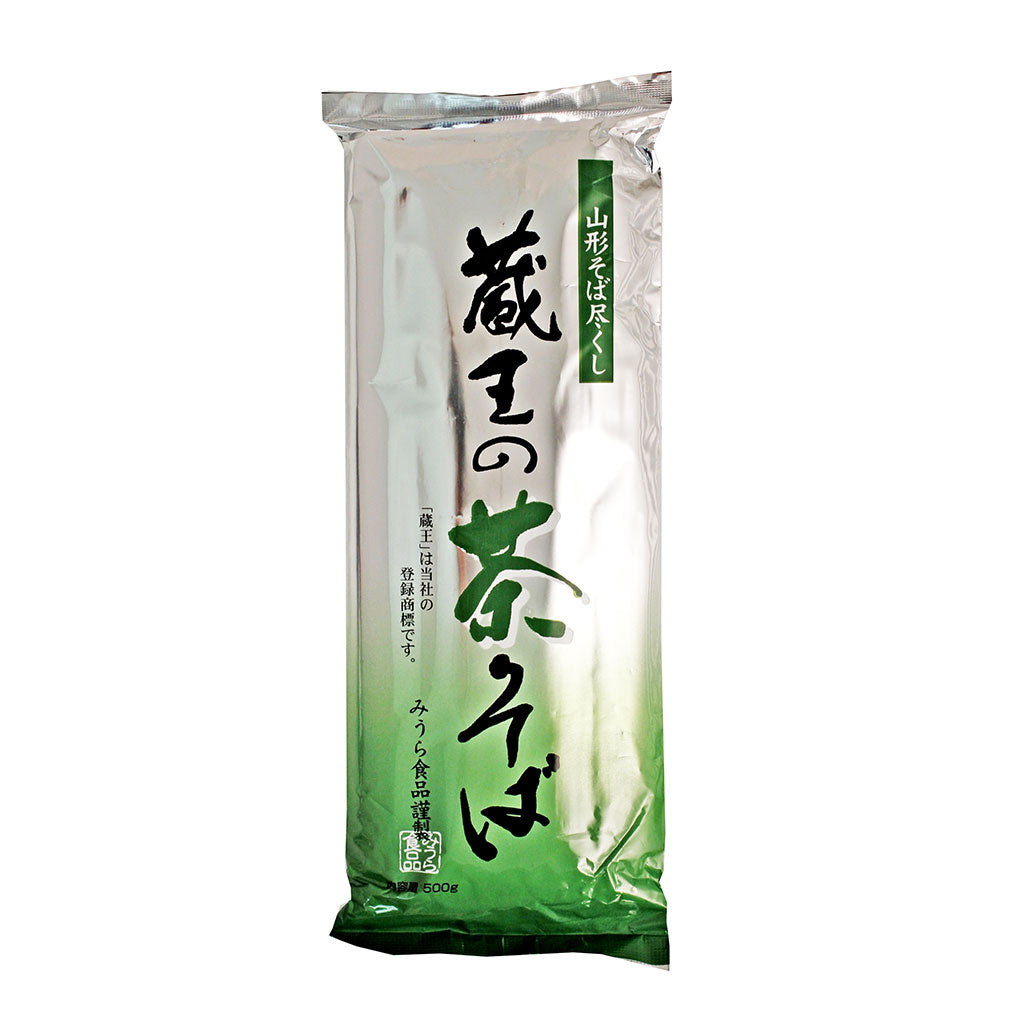 Zao Cha-Soba Buckwheat Noodle with Green Tea Japanese Grocery Delivery to NY NJ