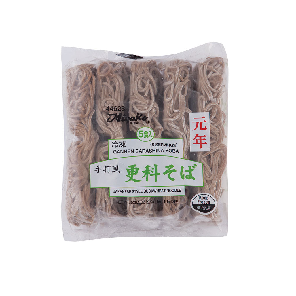 Miyako Sarashina Soba Buckwheat Noodle Japanese Grocery Delivery to NY NJ