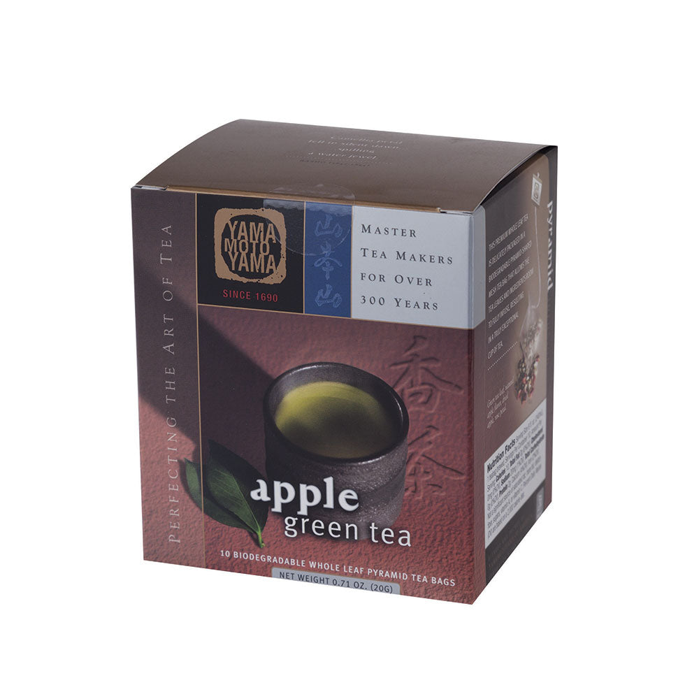 Yamamotoyama Pyramid Infusion Apple Green Tea 10 Tea Bags
