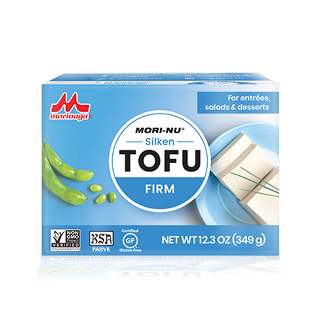 Mori-nu Non-GMO Tofu Firm 12 packages of 12.3 oz / 349g