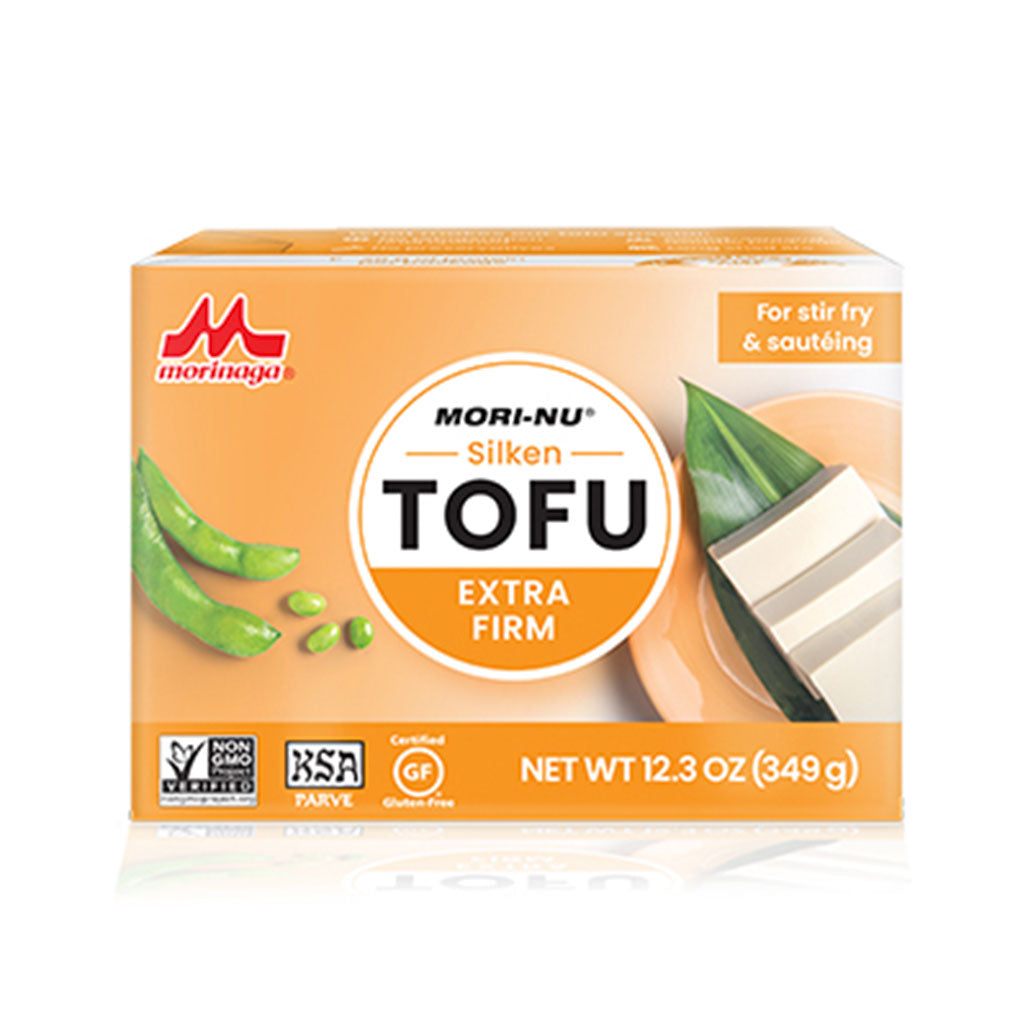 Mori-nu Non-GMO Tofu Extra Firm 12 packages of 12.3 oz / 349g
