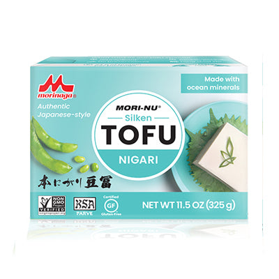 Mori-nu Non-GMO Tofu Silken Nigari 12 packages of 11.5 oz / 325g