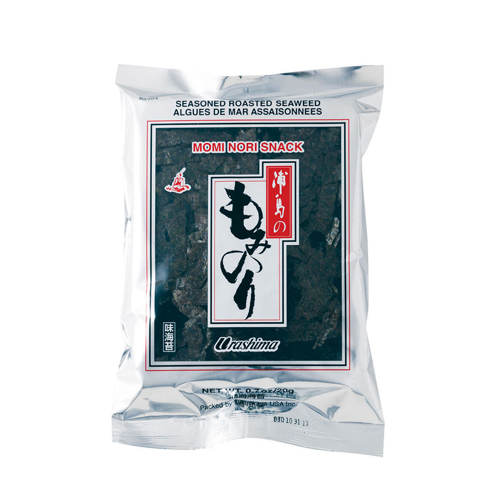 Urashima Seasoned & Roasted Seaweed Momi Nori Cut into Piece 0.7 oz (20g)
