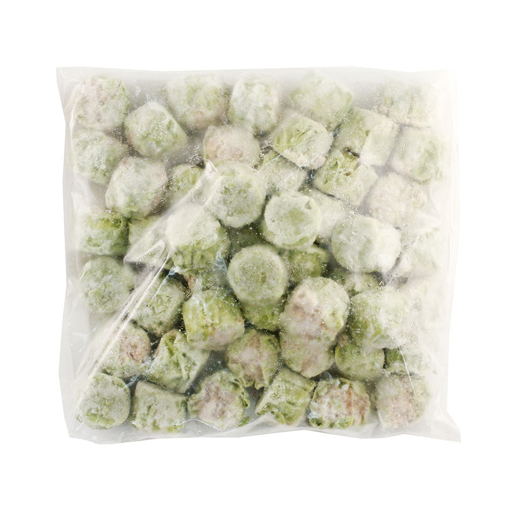 Frozen No-MSG Mini Pork & Veg Shumai with Wasabi 48 pcs / 1.55 lbs (700g)