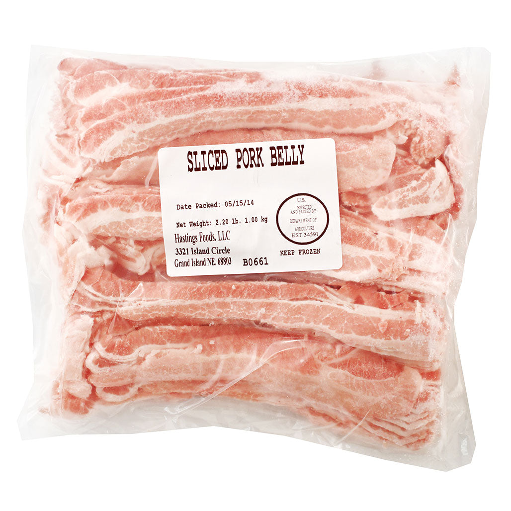 Pork Belly Thinly Sliced Japanese Grocery Delivery to NY NJ