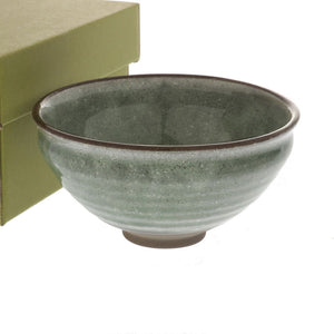 "Matcha Tea Bowl Thistle Green 13 fl oz / 4.8"" dia"