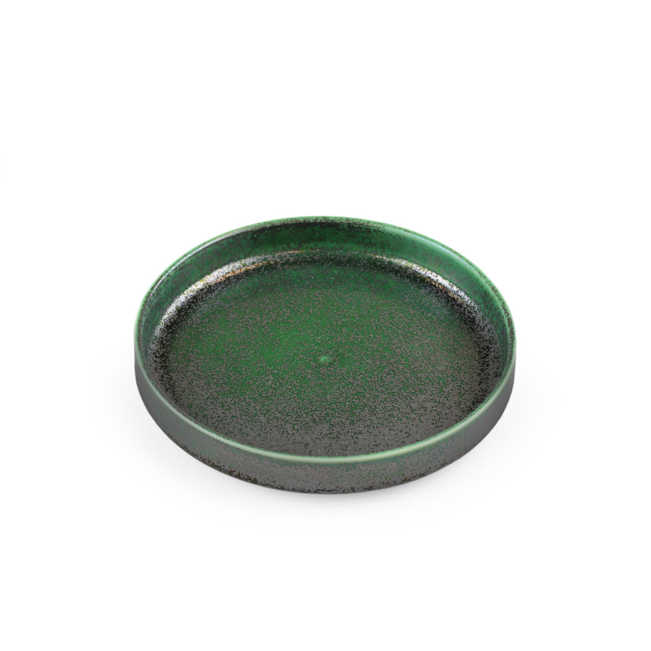 "Ivy Green Stackable Appetizer Plate 6.3"" dia"