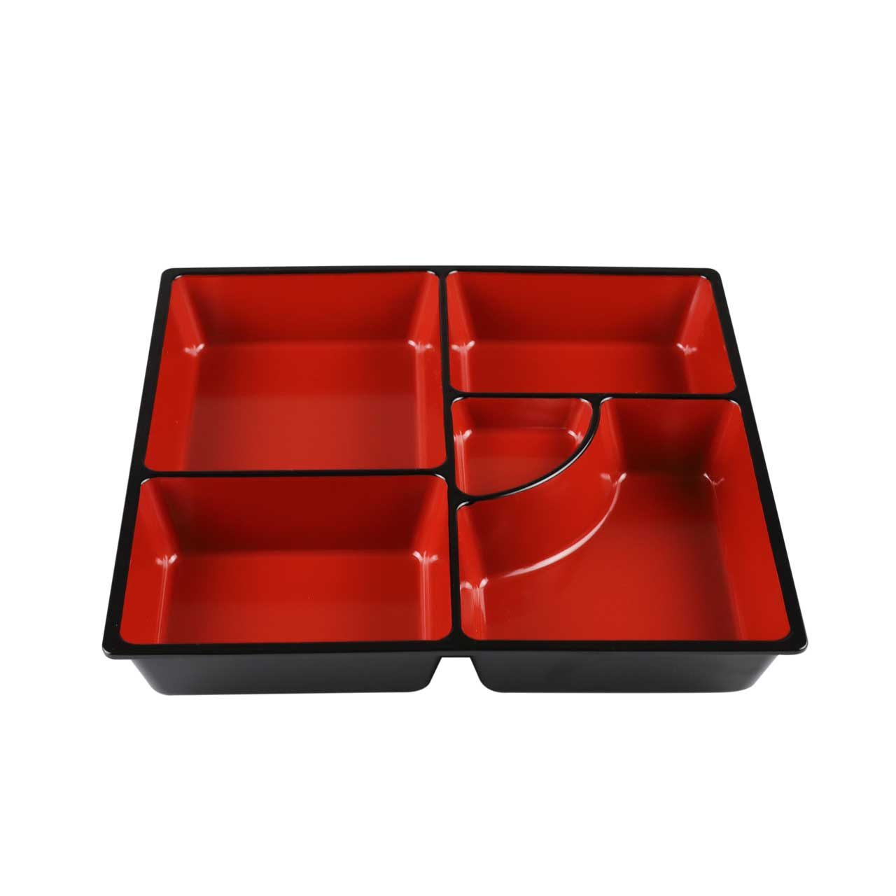 5 Compartment Inner Tray for Black Bento Box