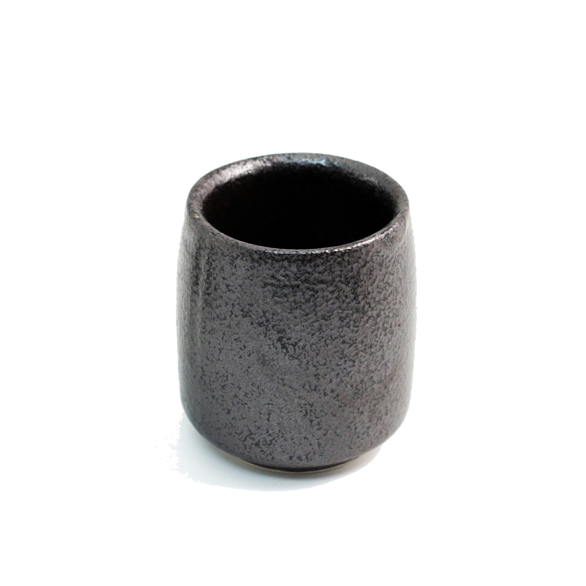 "Matte Black Tea Cup 7 fl oz / 2.83"" dia"