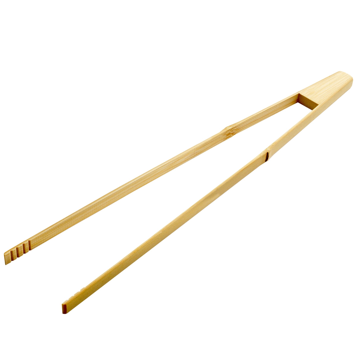 Bamboo Tongs 15.75""