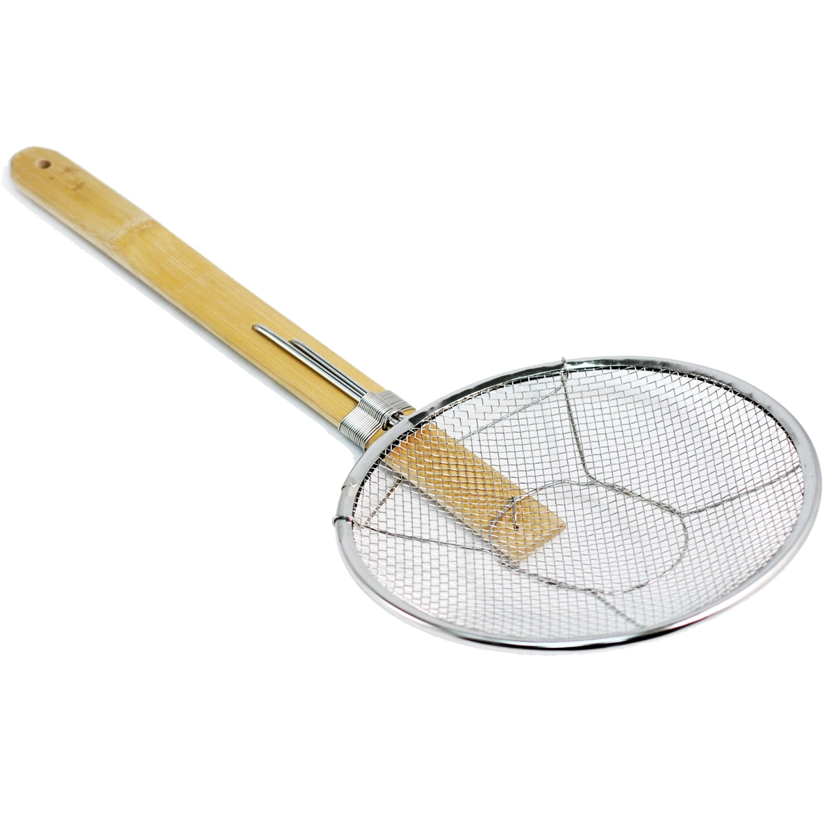 "Stainless Steel Noodle Spider Strainer 8.25"" Dia"