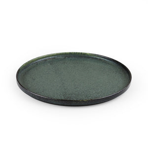 "Ivy Green Stackable Salad Plate 9.1"" dia"