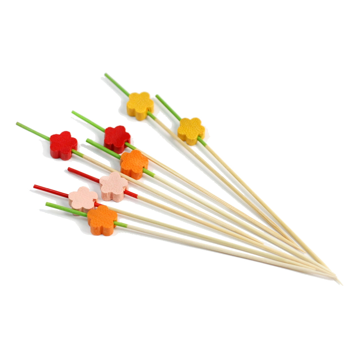 "[Clearance] Decorative Picks for Appetizers and Cocktails Ume Plum Flower 4.72"" (100/pack)"