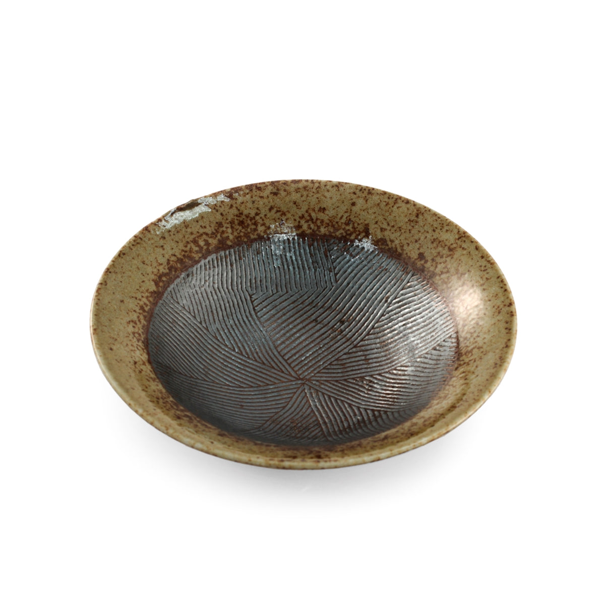 "Haifuki Brown Bowl with Japanese-style Mortar (Suribachi) 6.3""dia x 1.85""ht"