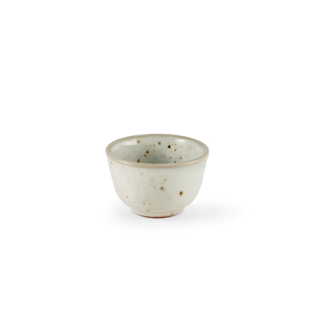 Cracked Glaze Ceramic Sake Cup 2.2 fl oz