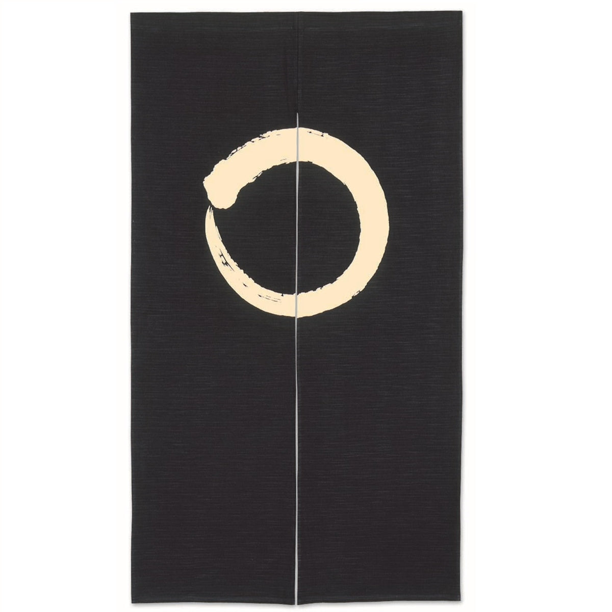 Noren Curtain with Circle Design