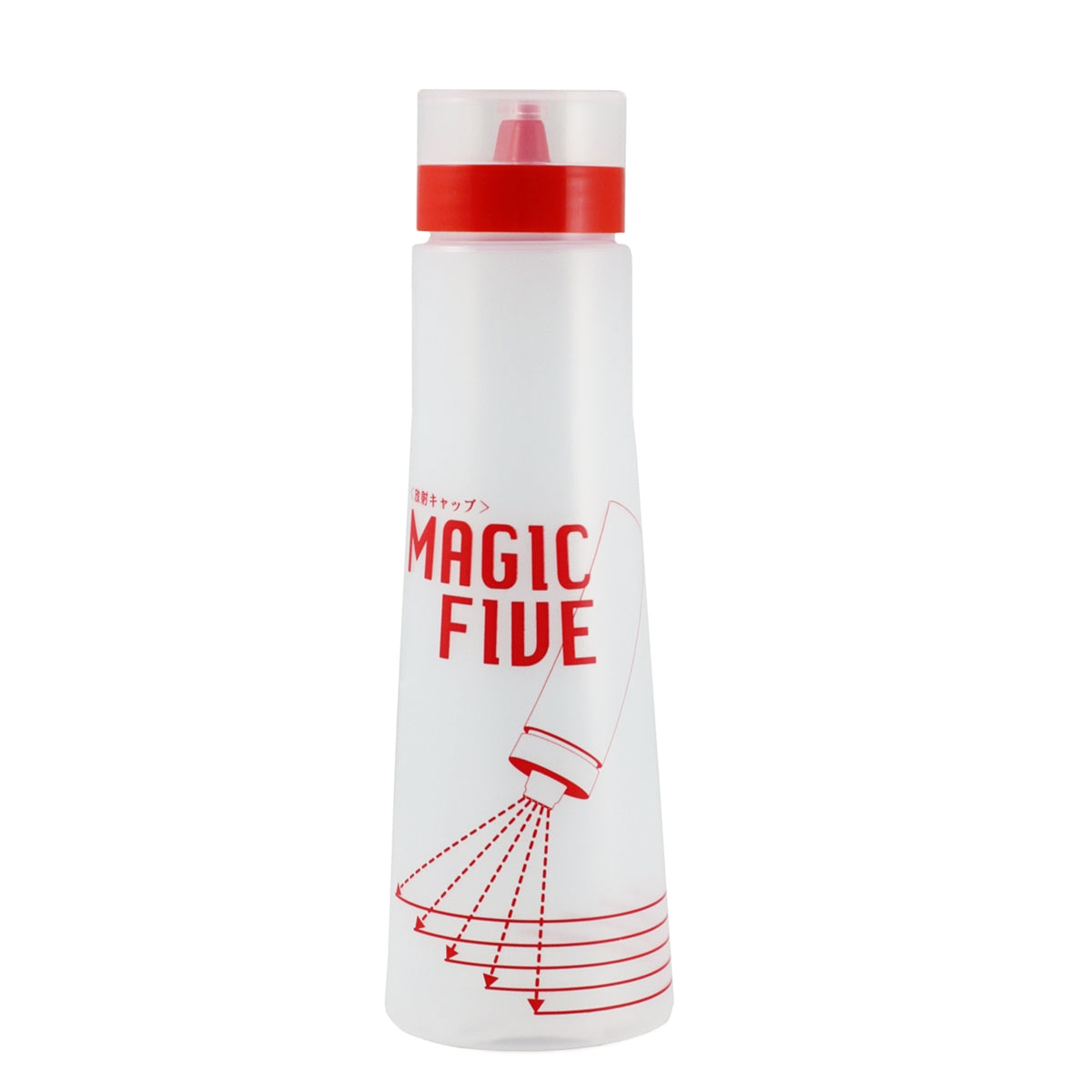 """Magic Five"" Sauce Dispenser 16.9 oz"