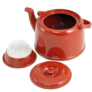 [Clearance] Clay Red Melamine Teapot 68 fl oz