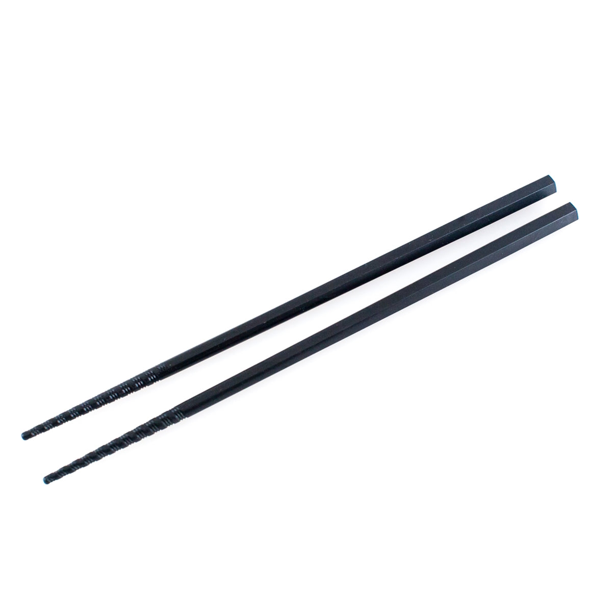 Black Non-Slip Plastic Chopsticks