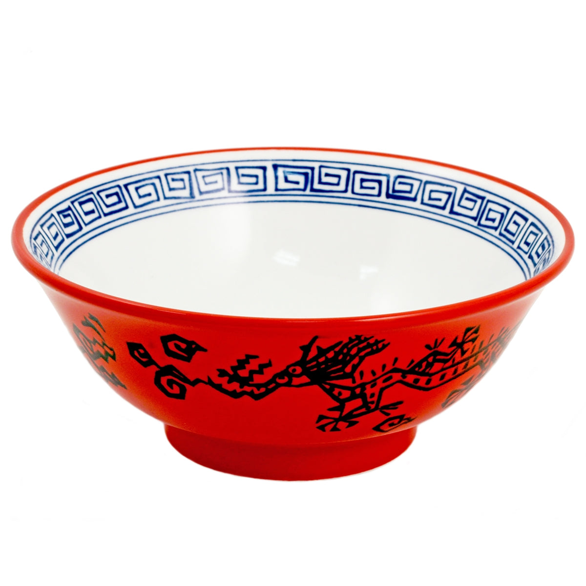 "Red Dragon Noodle Bowl 50 fl oz / 8.25"" dia"