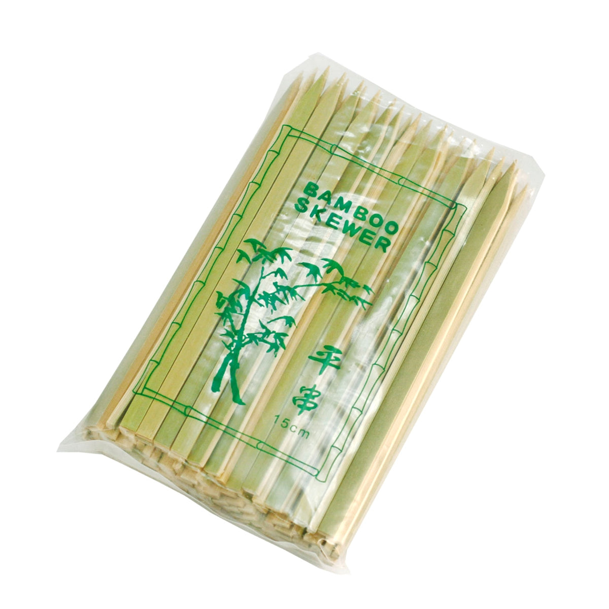 "Flat Bamboo Skewers 6"" (100/pack)"