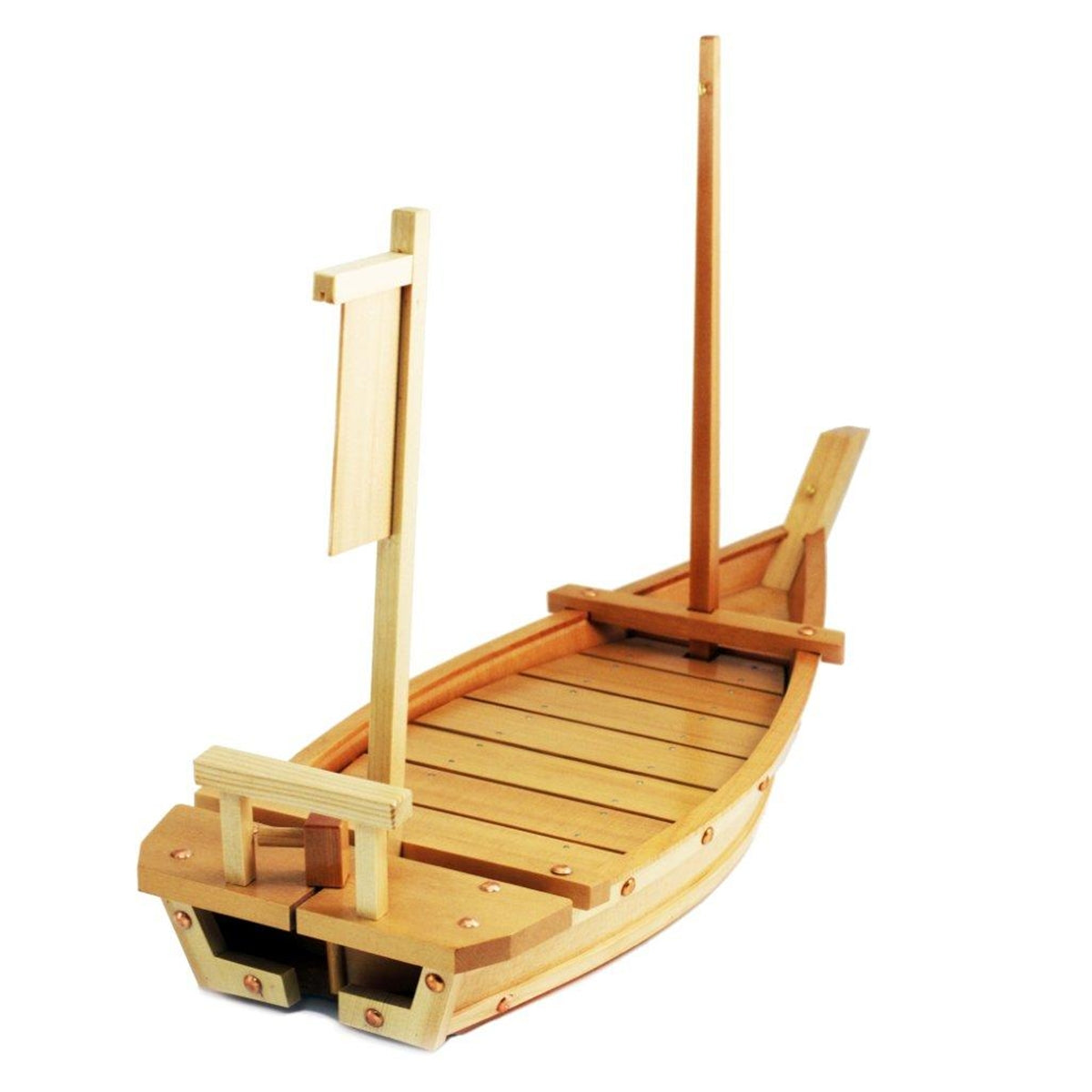 "[Clearance] Wooden Sushi Serving Boat 28.75"" x 11.42"""