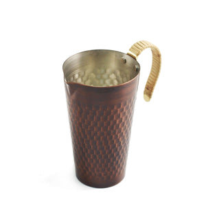 Tin-Lined Copper Warm Sake Server 10 fl oz