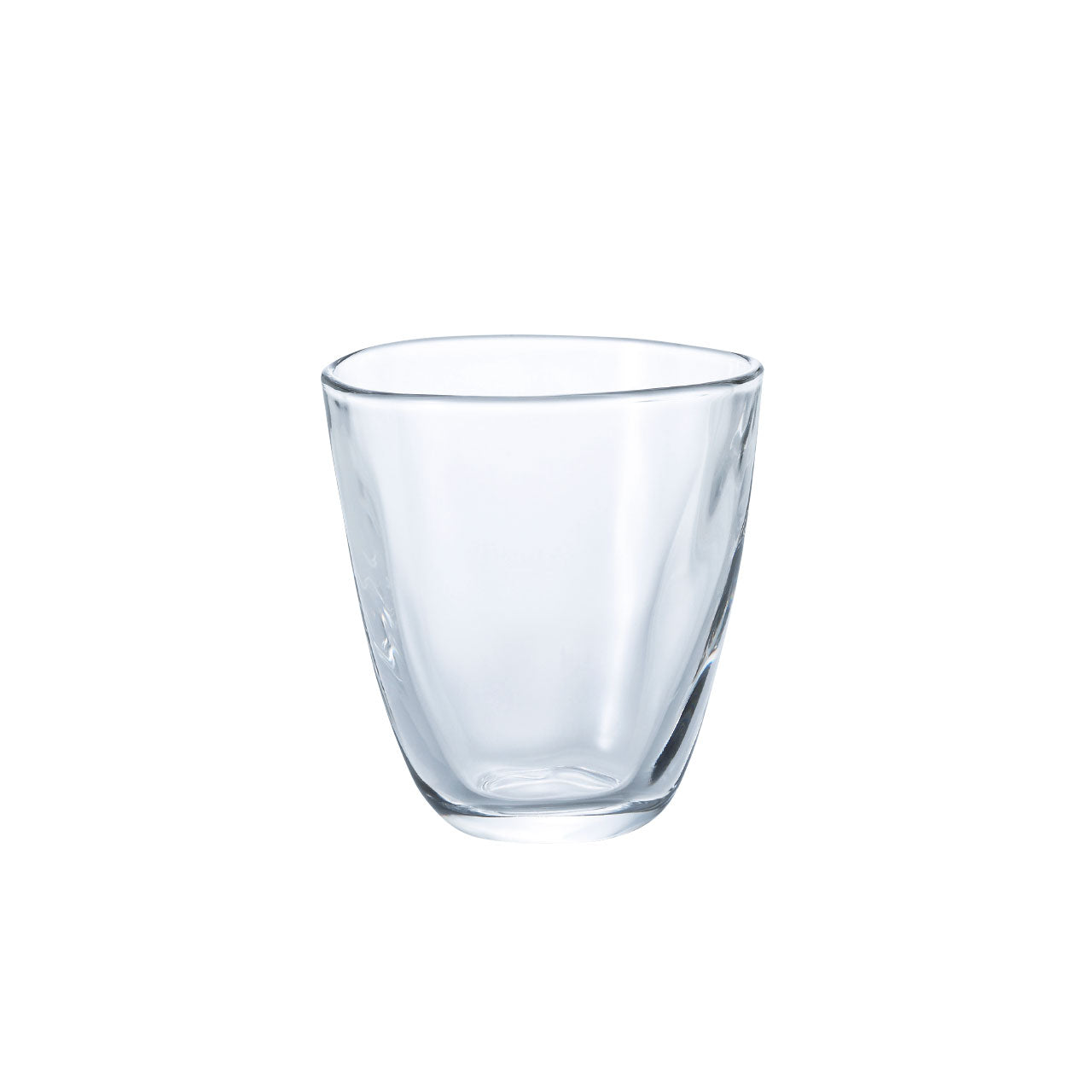 Organic Shaped Glass Tumbler 8 fl oz