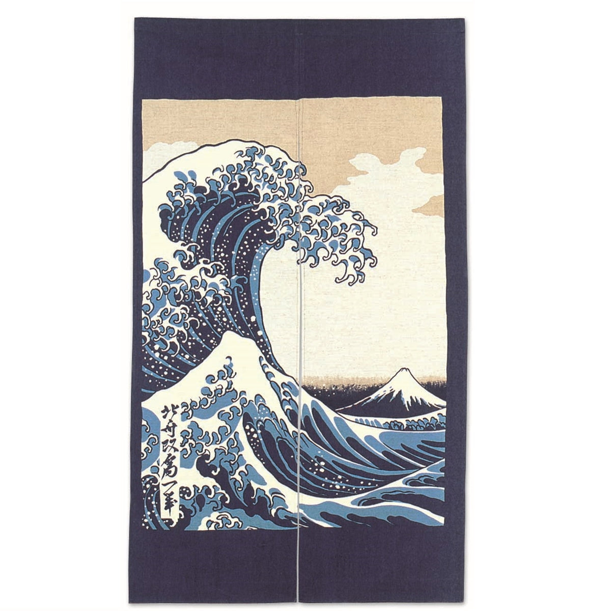 [Clearance] Noren Curtain with Wave