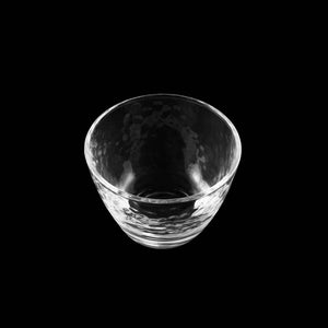 Textured Glass Sake Cup 2.5 fl oz