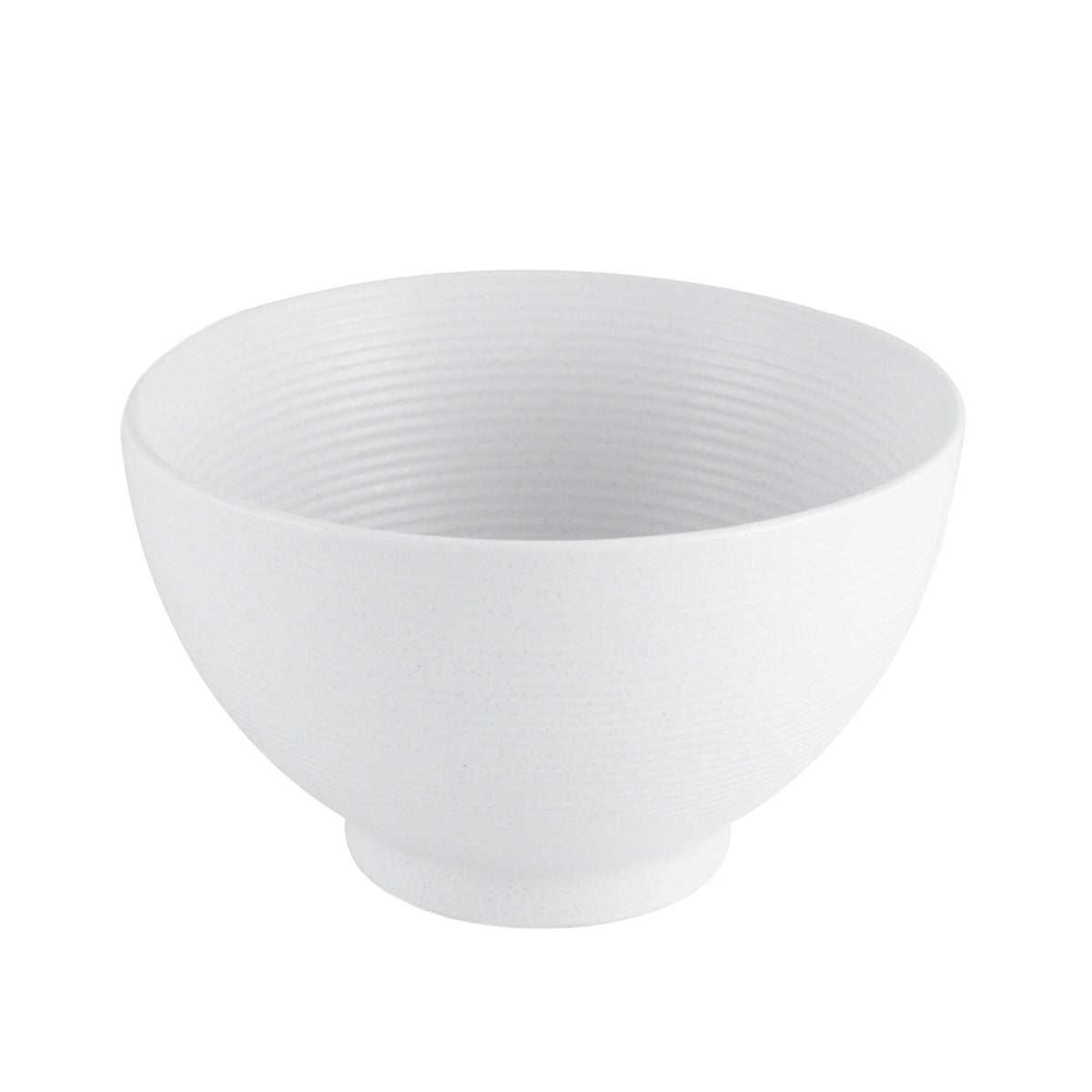 "Lined White Noodle and Donburi Bowl 29 fl oz / 6"" dia"