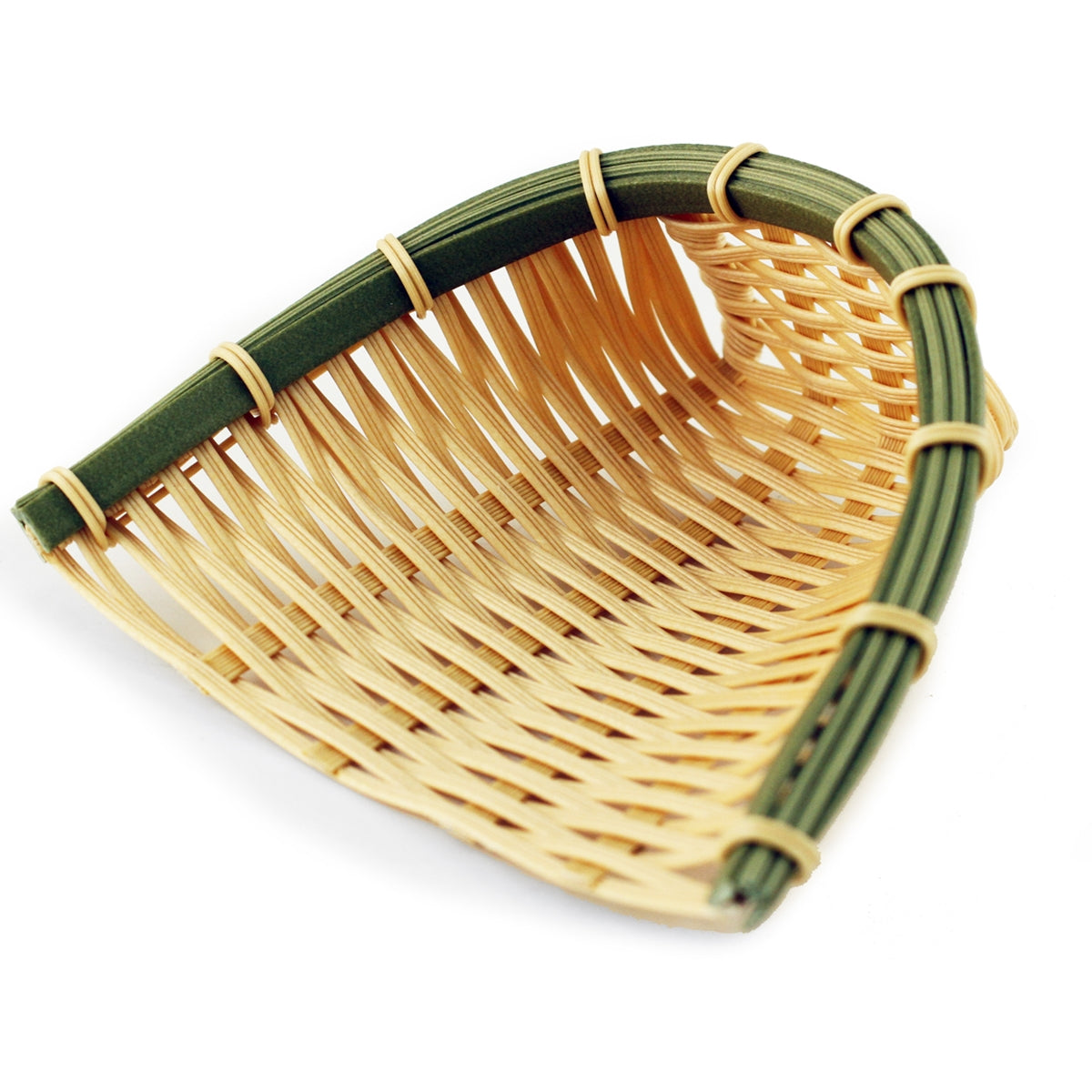 "Washable Faux Bamboo Basket 4.33"" x 4.72"""
