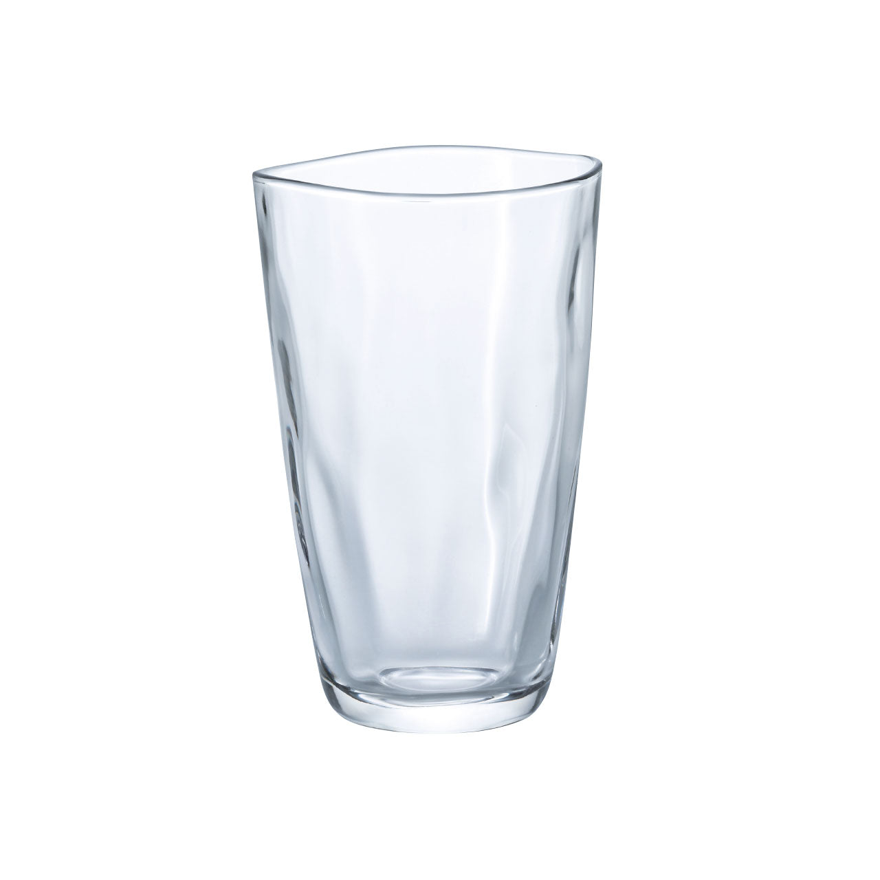 Organic Shaped Glass Cup Tumbler 12 fl oz