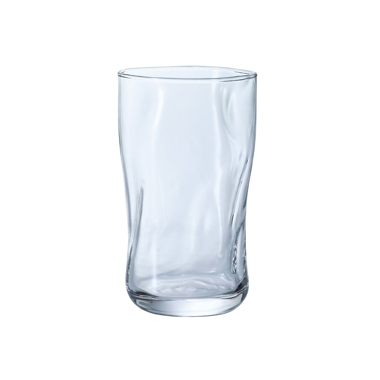 Organic Shaped Fluid Glass Tumbler 16 fl oz