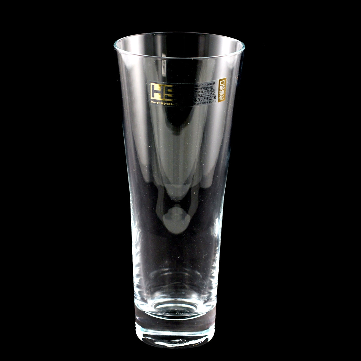 Toyo-Sasaki Hard Strong (HS) Tall Glass Cup 10.5 fl oz