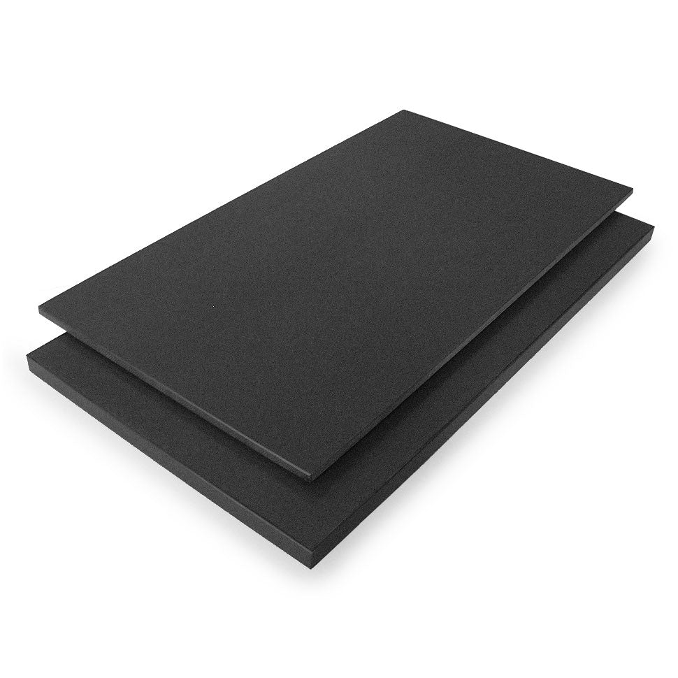 "Tenryo Black Grainy High Contrast Cutting Board 19.5"" x 9.75"" x 0.75"""