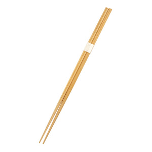 "9.5"" Disposable Square Tip Japanese Cypress Chopsticks Bundled - 100 Pairs / Pack"