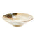 "Yukishino Moss White Serving Deep Plate 11.02"" dia"