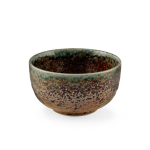"Ainagashi Blue Earthy Rice Bowl 19 fl oz / 5"" dia"