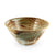 "Yukishino Moss White Noodle Bowl 40 fl oz / 7.8"" dia"
