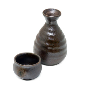 Rusty Brown Ceramic Sake Server 5.5 fl oz