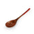 Wooden Coffee & Dessert Spoon with Red Lacquered Handle