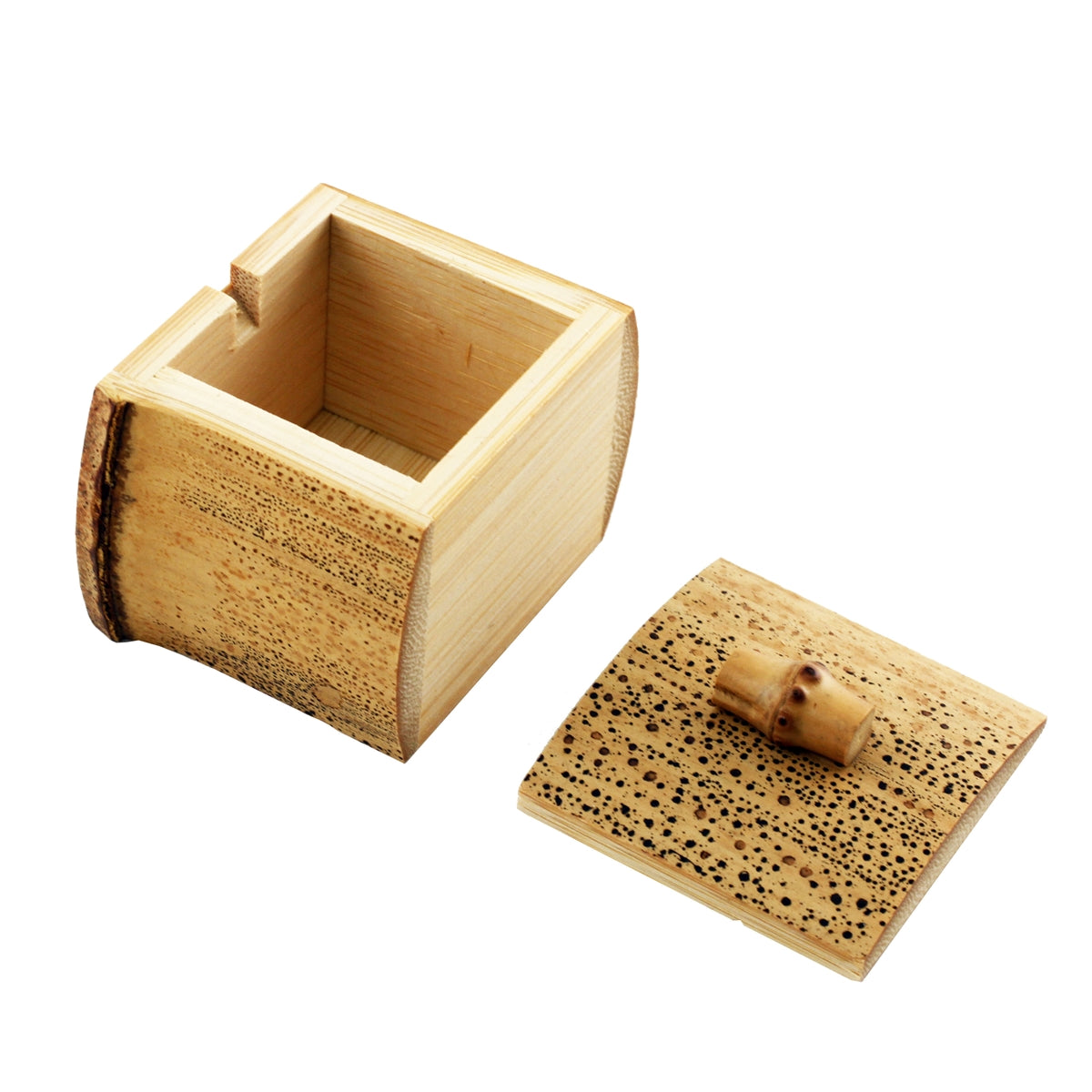 Bamboo Condiment Container