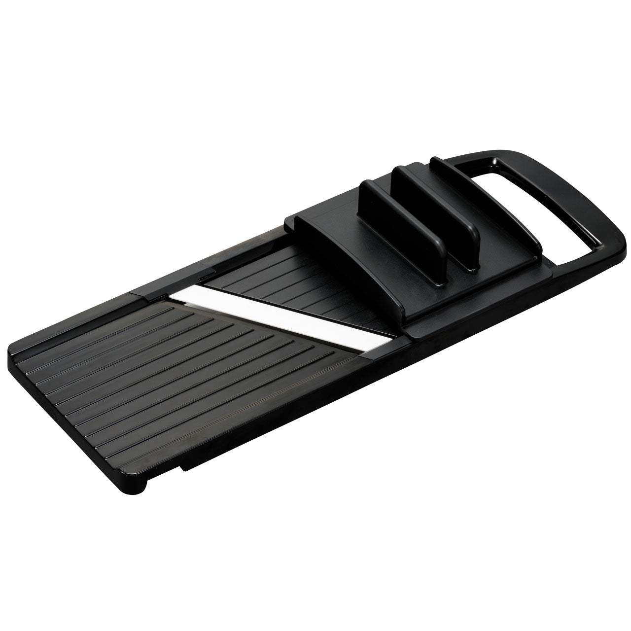 Kyocera Advanced Ceramic Wide Mandoline Slicer with 4-Thickness Adjustable Dial Black CSN-402