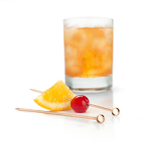 "Copper Cocktail Pick Set 4.25"" (Set of 6)"