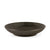 "Black Speckled Serving Plate 8"" dia"