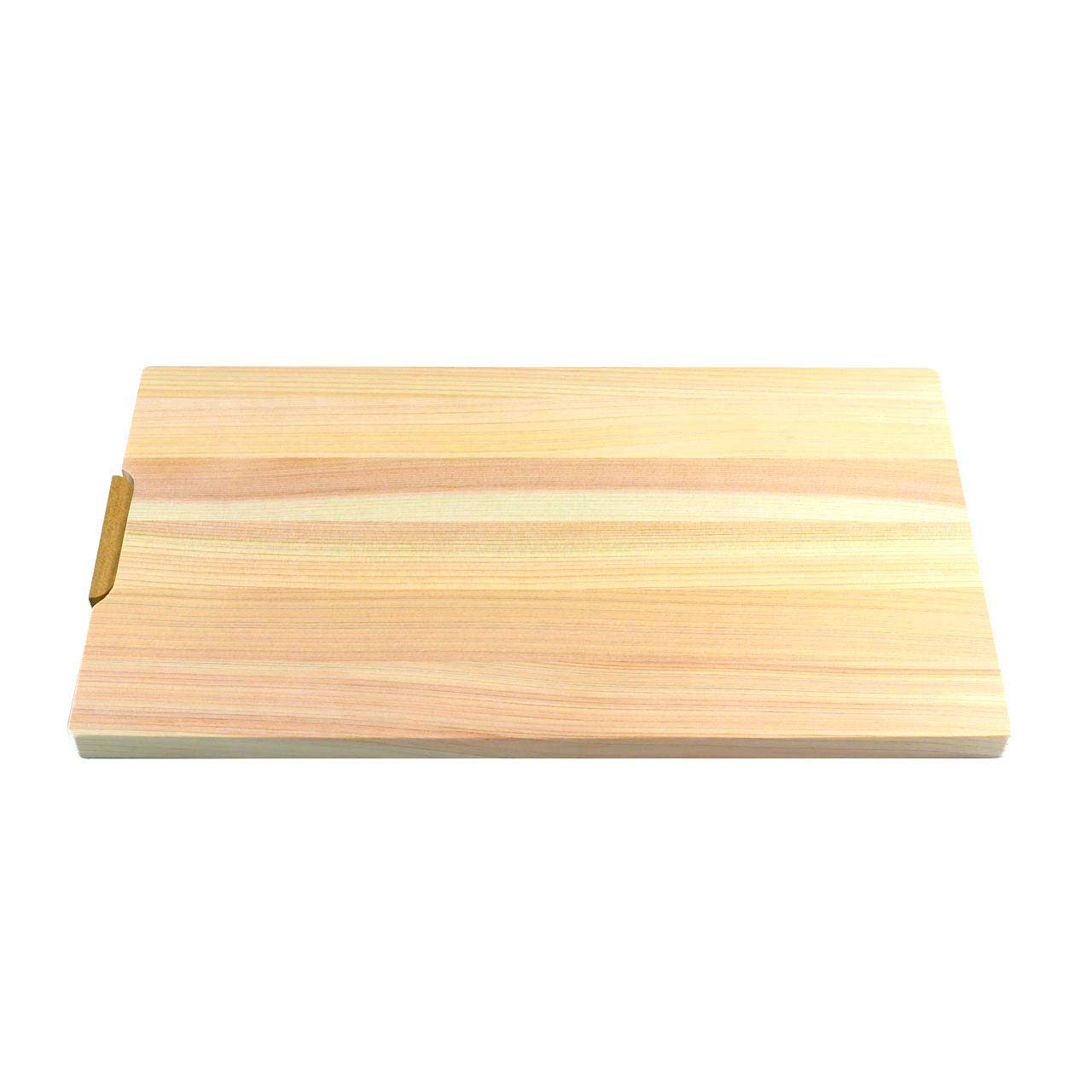 "Hinoki (Japanese Cypress) Cutting Board w/Stand 14.4"" x 7.9"" x 0.6"" ht"