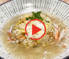 Crab Fried Rice (Kani Chahan)