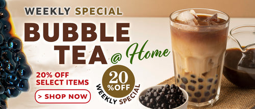 20% Off Bubble Tea Essentials